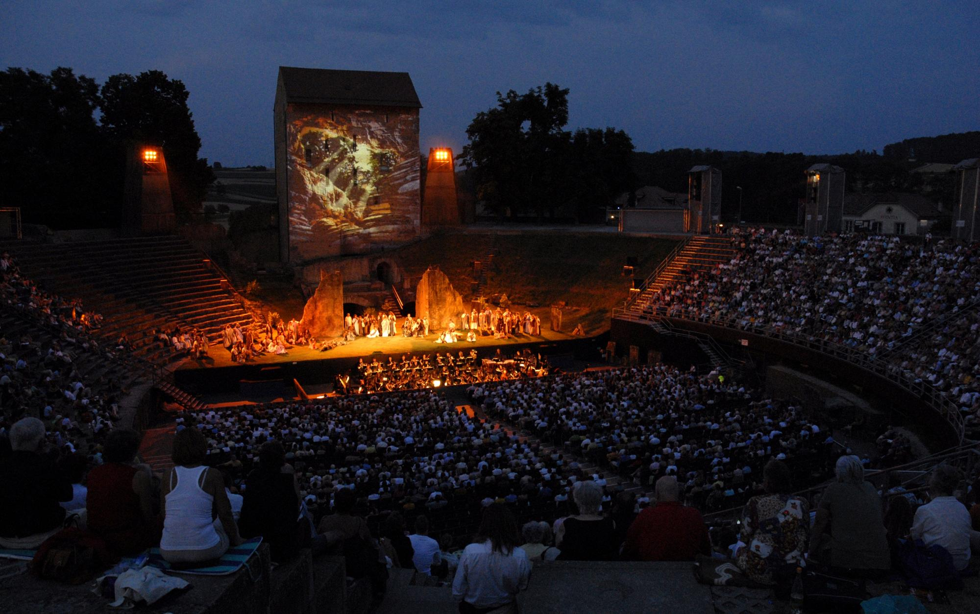 Sortie VIP à l'Opéra d'Avenches